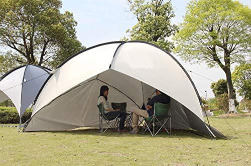 サドル君主派手Campgear(キャンプギア) ドーム型クールシェードorサンシェードイベント用テント 2~4人用