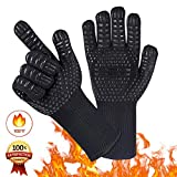 Best Grill Gloves - Silicone Grilling Gloves - Best Heat Resistant Oven Review