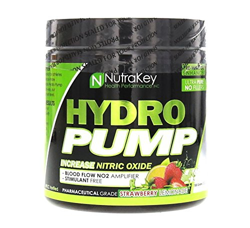 Nutrakey Hydro Pump Nutrition Mixer, Strawberry Lemonade