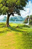 GladsBuy Dream World 8' x 12' Digital Printed Photography Backdrop Nature Theme Background YHA-389
