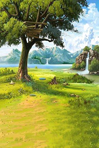GladsBuy Dream World 8' x 12' Digital Printed Photography Backdrop Nature Theme Background YHA-389 by GladsBuy
