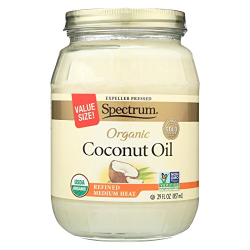 Spectrum Naturals Organic Refined Coconut Oil, 29 Ounce
