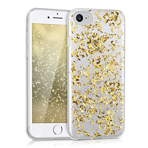 kwmobile-crystal-tpu-silicone-case-for-apple-iphone-7-in-gold-transparent-design-flakes