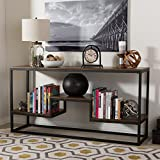 Baxton Studio Console Table in Black Brown