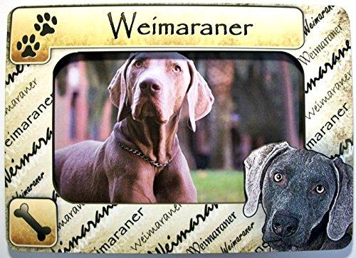 (Weimaraner Picture Frame Fridge Magnet)