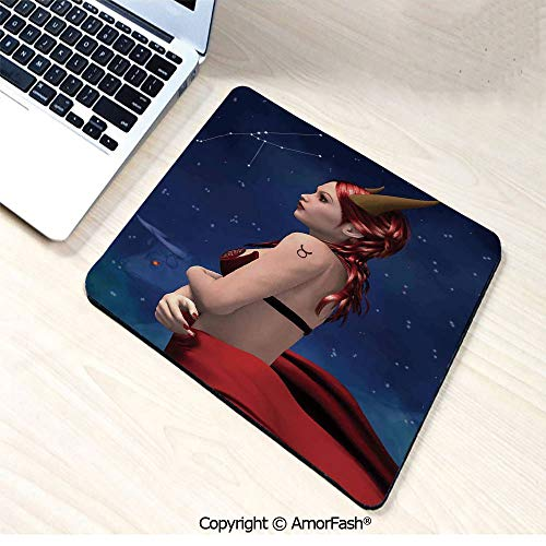 Gaming Mouse Pad Custom,Non-Slip Rubber Base,4mm Thick,11
