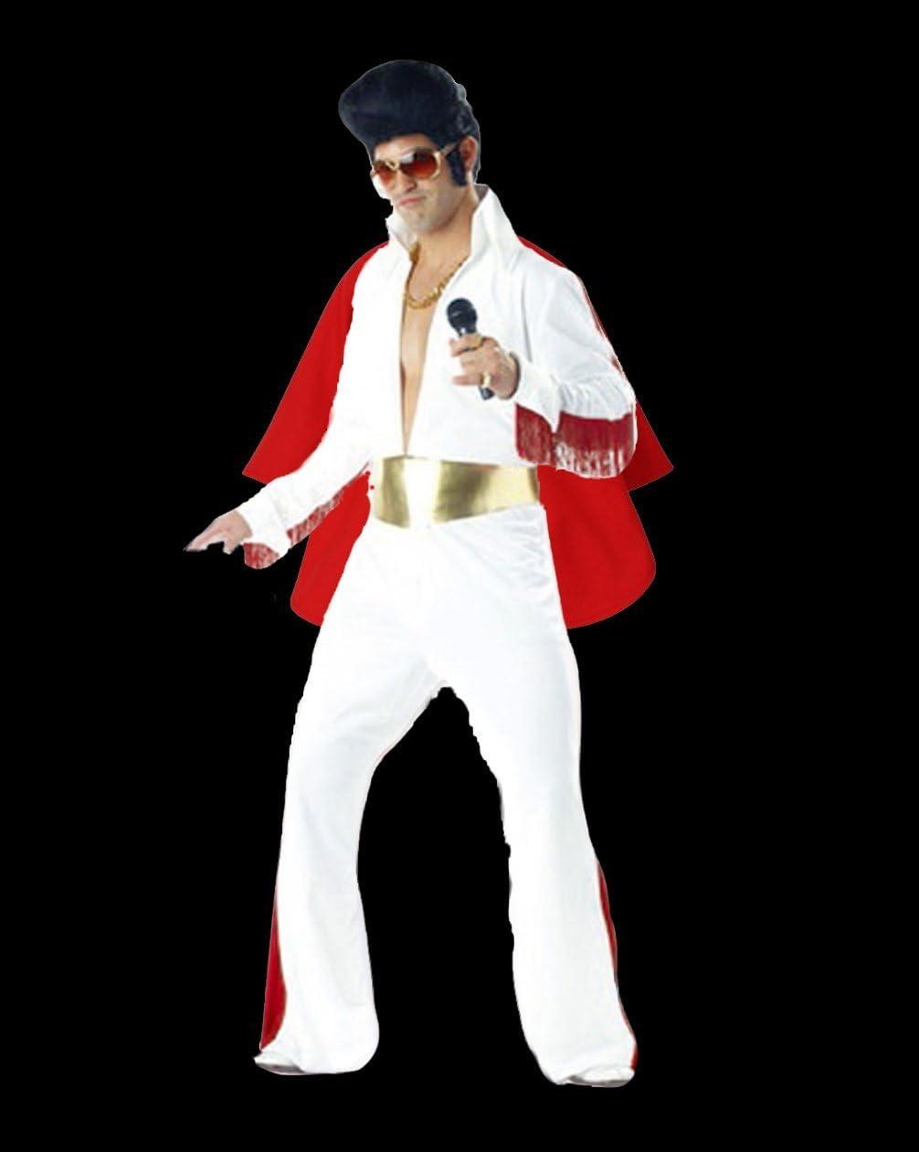 Rubber Johnnies TM Elvis Traje King of Rock n Roll Disfraz ...