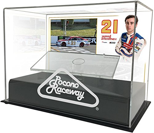 Ryan Blaney 2017 Axalta Presents the Pocono 400 1:24 Die Cast Display Case with Sublimated Plate - Fanatics Authentic Certified