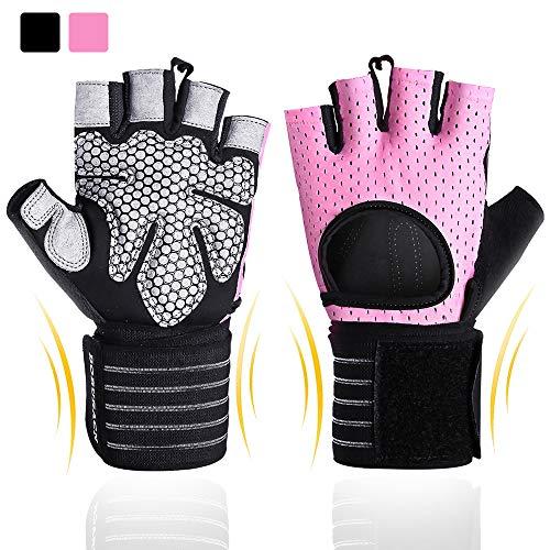 BOBURACN Workout Gloves for