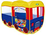Saffire Children's School Bus Play Tent - 100% Nylon Fabric