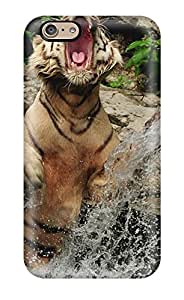 High Quality Tiger Skin Case Cover Specially Designed For Iphone 6