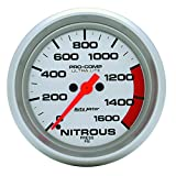 Auto Meter 4474 Ultra-Lite Electric Nitrous Pressure Gauge