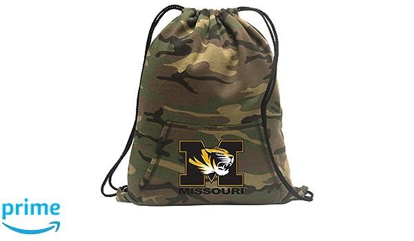 Broad Bay Mizzou Drawstring Bag University of Missouri Cinch Pack Backpack Unique MESH /& Microfiber