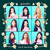 GUGUDAN - [ACT.2 NARCISSUS] 2nd Mini Album CD+64p Photo Book+2p Photo Card SEALED