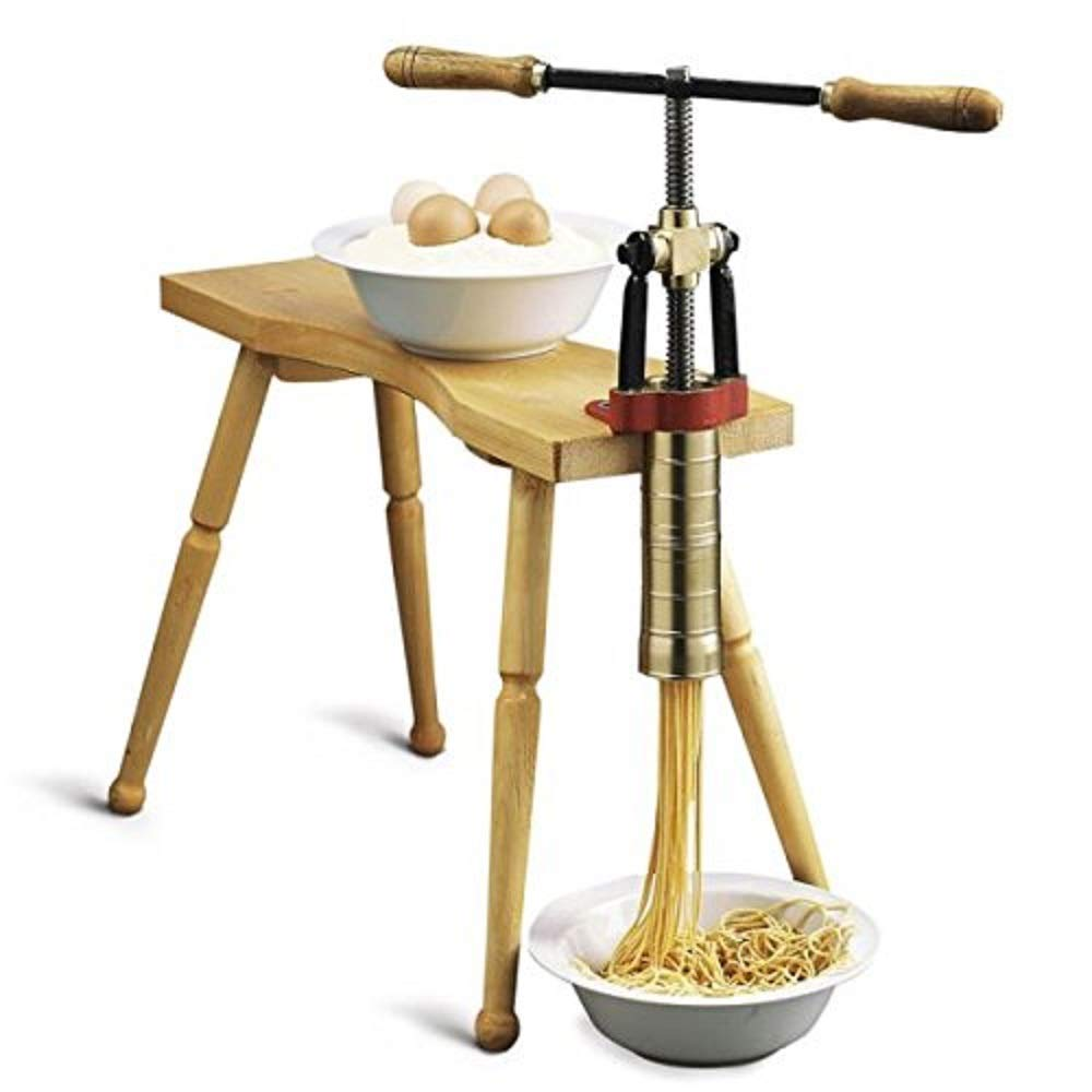 Torchio Bigolaro Hand Press Pasta Maker by Bottene