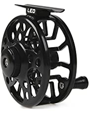 Lixada Fly Pesca Carrete de Aleación de Aluminio 3/4/5/6/7/8 Peso 2 + 1 Rodamiento de Bolas Izquierda Derecha Intercambiable