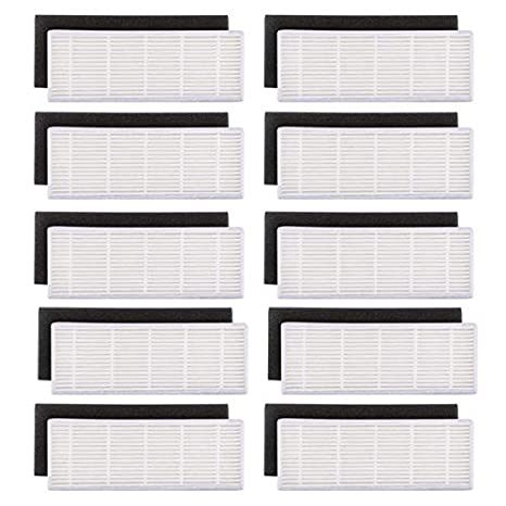 TOOGOO 20pzs / Lote Filtro HEPA y filtros de Esponja Repuestos para ilife A4s A6 A4 A40 Filtro de Limpieza de Polvo Accesorios para aspiradoras: Amazon.es: ...