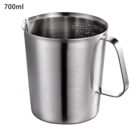 Amazon.com: Maserfaliw 500 / 700 / 1000 ml vaso medidor de ...