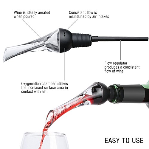 Zestkit-Wine-Aerator-Pourer-Modern-Aerating-Pourer-Red-and-White-Wine-Decanter-Spout-Black