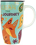 Karma Gifts Happy Trails Travel Mug, Fox