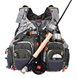 Best Fishing Vests - Maxcatch Fly Fishing Vest Mesh Vest Free Size Review