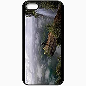 Personalized iPhone 5 5S Cell phone Case/Cover Skin After Earth Black