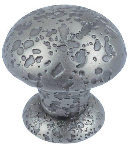 (Atlas Homewares 286-P 1-Inch Old World Small Knob, Pewter )