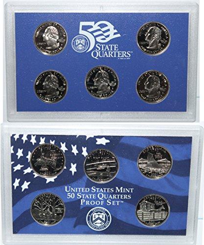 2001 S 2001 Proof quarter set Original Mint Packaging (Rhode Island Mint Coin Set)