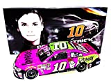 AUTOGRAPHED 2015 Danica Patrick #10 GoDaddy Racing Team PINK CAR (Final Year with GoDaddy) Stewart-Haas Team Signed Lionel 1/24 NASCAR Diecast Car with COA (#510 of only 757 produced!)