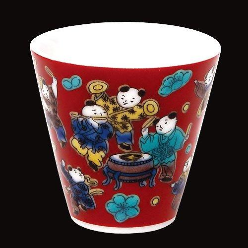 KUTANI YAKI(ware) Sake Cup Mokubei