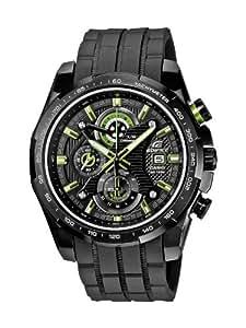 CASIO EFR-523PB-1AVEF - Reloj analógico de cuarzo con correa de resina para hombre, color negro
