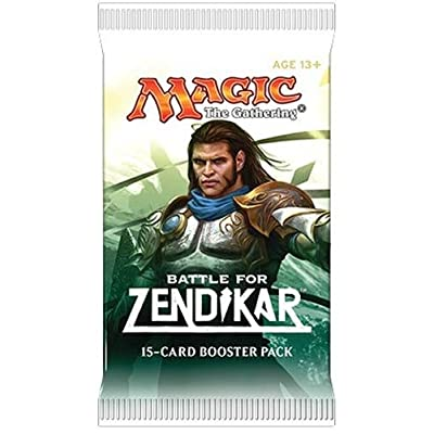 Magic the Gathering (MTG) Battle for Zendikar Booster Pack (15 cards) - Pre-Order Ships After Oct 2nd: Toys & Games