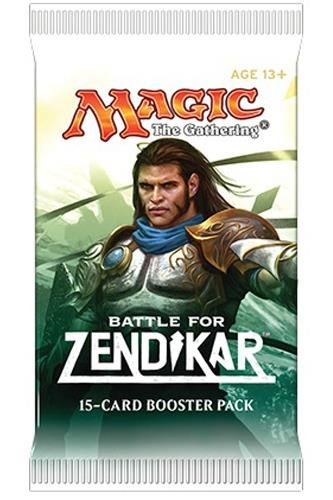 Magic the Gathering (MTG) Battle for Zendikar Booster Pack (15 cards) - Pre-Order Ships After Oct 2nd (Zendikar Magic Card)