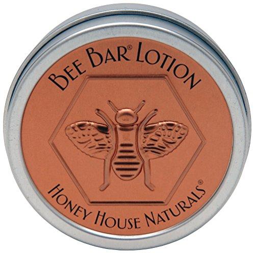 Honey House Naturals Small Bee Bar Lotion, Hawaiian, 0.6 Ounce