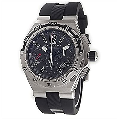 Bvlgari Diagono X Pro Black Dial Chronograph Automatic Mens Watch DP45BSTVDCH-GMT