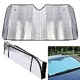 Car Front Window Removable Sunscreen Shade Protector Foldable Auto Sun Visor