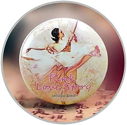 Fdsd Simple Beautiful Generous 1PC Magic Solid Perfume for Men or Women 18 Kinds of Fragrance Alcohol-Free 15g for Parties Dates etc.