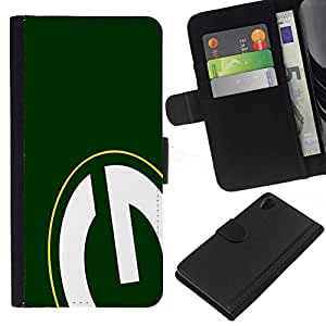 NEECELL GIFT forCITY // Billetera de cuero Caso Cubierta de protección Carcasa / Leather Wallet Case for Sony Xperia Z2 D6502 // GRAMO