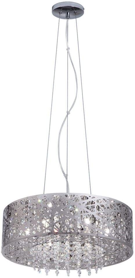 Home Decorators Collection 7-Light Mirrored Stainless Steel Pendant