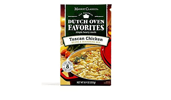 Amazon.com : Dutch Oven Favorites Tuscan Chicken 8.92 oz each (4 Items Per Order) : Grocery & Gourmet Food