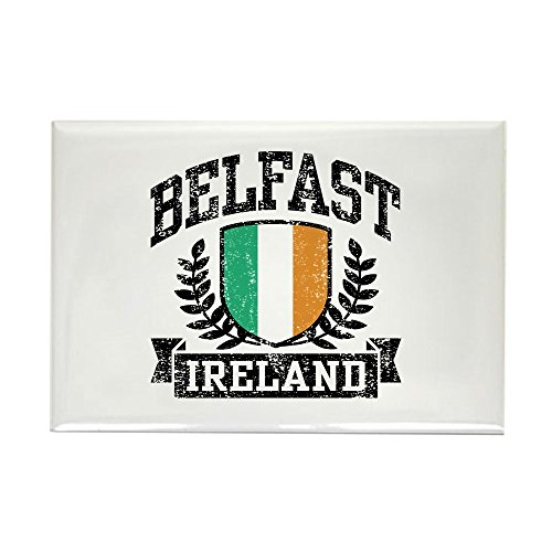 CafePress Belfast Ireland Rectangle Magnet, 2