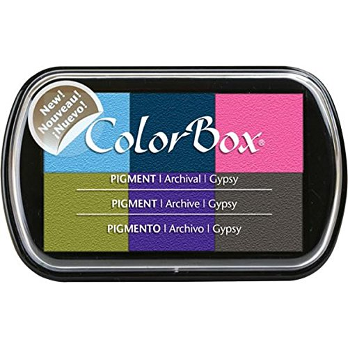 ColorBox 6-Color Pigment Inkpad, Gypsy
