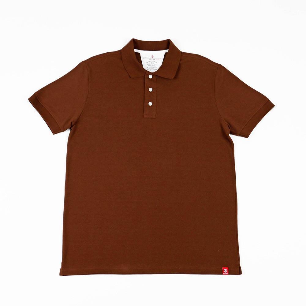 Mens Polo Shirt Cappuccino