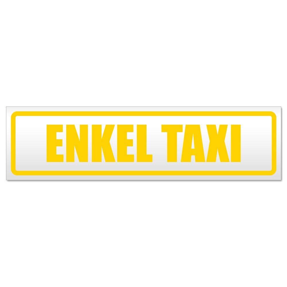 Kiwistar Enkel Taxi Magnetschild Schild magnetisch