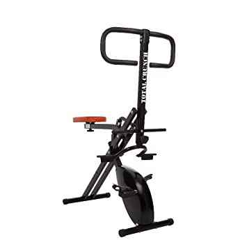 Ideal Total Crunch Evolution Whole Body Workout Machine With Integrated Exercise Bike