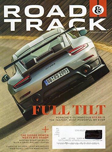 THE DODGE DEMON MEETS BIG DADDY Porsche 911 RSR JEEP WRANGLER Aston Martin DB11 Hits The Road & Track 2018 Magazine BMW M550i Art of Motorsport