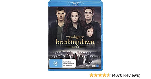 Amazoncom The Twilight Saga Breaking Dawn Part 2 Non Usa Format