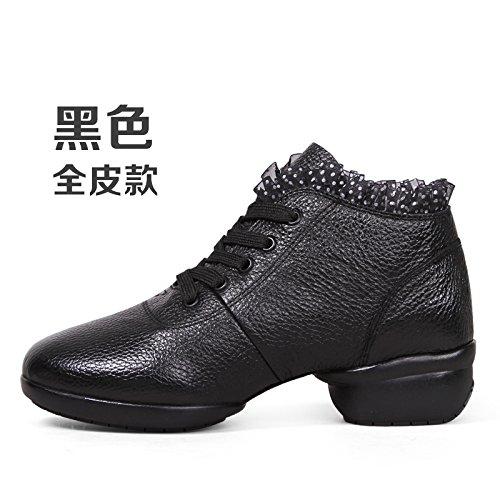 Noir Wuyulunbi@ Avec des chaussures de danse Chaussures de danse de plancher Trente-quatre