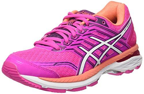 Asics GT, Zapatillas de Running para Mujer Rosa (Pink Glow/White/Dark Purple)