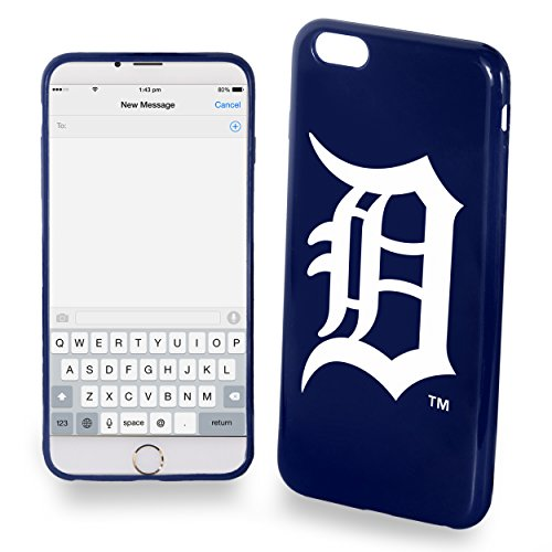 [Detroit Tigers iPhone 6 TPU Silicone Soft Slim Case] (6 Tiger)
